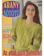 Arany Kötőtű 1991. 9. szám - Scherz Ágnes (szerk.)