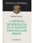 A szociáldemokrácia és a magyar társadalom 1914-ig - Schlett István