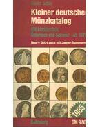 Kleiner deutscher Münzkatalog - Schön, Günter