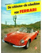 Die schönsten - die schnellsten von Ferrari - Serge Bellu