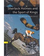 Sherlock Holmes and the Sport of Kings Audio CD Pack - Stage 1