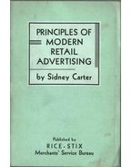 Principles of Modern Retail Advertising - Sidney Carter