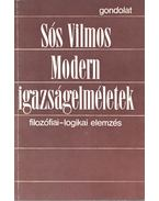 Modern igazságelméletek (dedikált) - Sós Vilmos