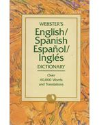 Webster's English/Spanish, Espanhol/Inglés Dictionary