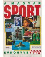 A magyar sport évkönyve 1992 (dedikált)