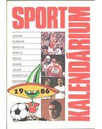 Sport Kalendárium 1986