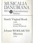 Starck Virginal Book - Johann Wohlmuth: Miserere