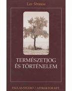Természetjog és történelem - Strauss, Leo