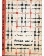 Szabó-varró tanfolyamok