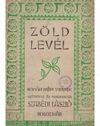Zöld levél - Szabédi László