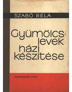 Gyümölcslevek házi készítése - Szabó Béla