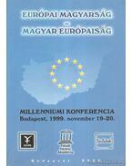 Európai magyarság - magyar európaiság - Szabó Ferenc