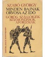 Minden bajnak orvosa az idő - Szabó György