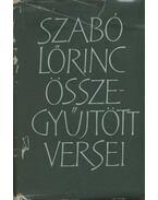 Szabó Lőrinc összegyűjtött versei - Szabó Lőrinc