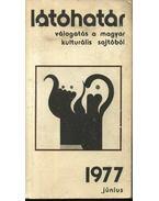Látóhatár 1977 június - Szabolcsi Miklós