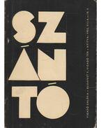Szántó Tibor könyvtervező tipográfus kiállítása a Vigadó Gallériában