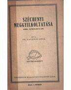 Széchenyi meggyilkoltatása - Dr. Kacziány Géza