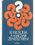 Ki kicsoda a magyar zeneéletben? - Székely András