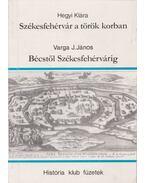 Székesfehérvár a török korban - Bécstől Székesfehérvárig