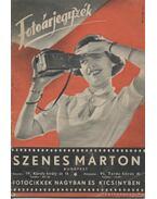 Szenes Márton - Fotóárjegyzék