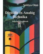 Digitális és Analóg Technika Informatikusoknak II. - Szittya Ottó