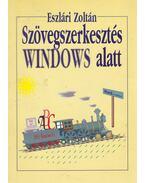 Szövegszerkesztés Windows alatt