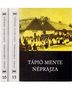 Tápió mente néprajza I-II. kötet