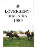 Lóversenykrónika 1989 - Tarsoly Gergely