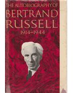 The Autobiography of Bertrand Russel 1914-1944