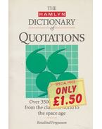 The Hamlin Dictionary of Quotations
