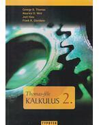 Thomas-féle kalkulus 2.