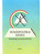 Humánpolitikai szemle 1994/9. - Több szerző