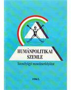 Humánpolitikai szemle 1996/2. - Több szerző