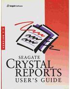 Seagate Crystal Reports User's Guide-Version 5. 0 - Több szerző