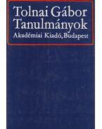 Tanulmányok - Tolnai Gábor