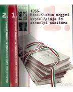 1956 Bács-Kiskun megyei kronológiája és személyi adattára I-II. - Tóth Ágnes