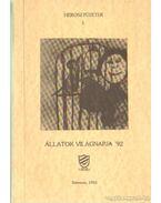 Állatok világnapja 92. - Tóth Ildikó