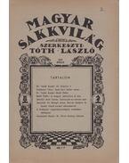 Magyar sakkvilág 1946 április - Tóth László