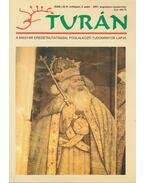 Turán IV. évf. 4. szám 2001. augusztus-szeptember