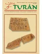 Turán IV. évf. 5. szám 2001. október-november