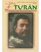 Turán VI. évf. 4. szám 2003. július-augusztus