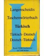 Türkisch-Deutsch Deutsch-Türkisch Taschenwörterbuch - Karl Steuerwald, Cemal Körpülü