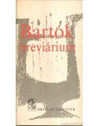 Bartók breviárium - Ujfalussy József