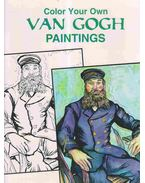 Color Your Own VAN GOGH Paintings