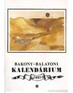 Bakony-balatoni kalendárium 1993 - Varga Béla