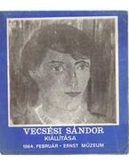 Vecsési Sándor kiállítása (dedikált)