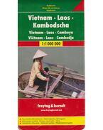 Vietnam Laos Kambodscha 1:1000000