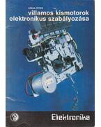 Villamos kismotorok elektronikus szabályozása
