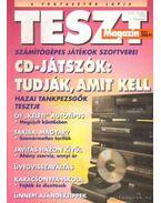 Teszt Magazin 1994. III. Évfolyam 1-12.szám (Teljes!) - Vince Mátyás (szerk.)