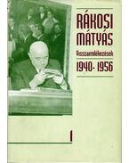 Visszaemlékezések 1940-1950 I.